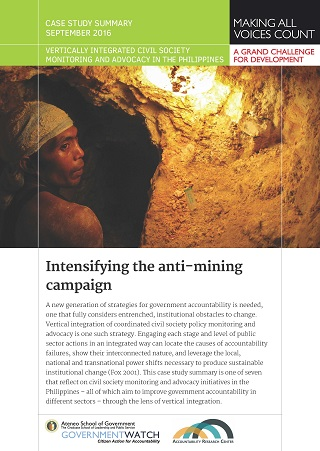 Intensifying the Anti-mining Campaign: Case Study Summary