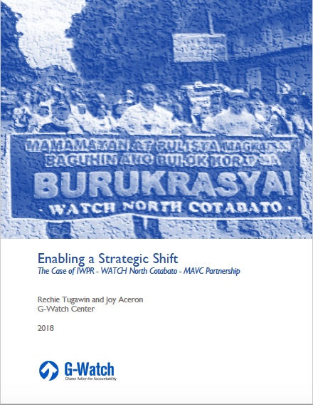 WATCH North Cotabato Case Study cover