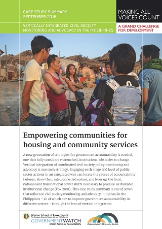Empowering Communities for Housing and Community Services: Case Study Summary