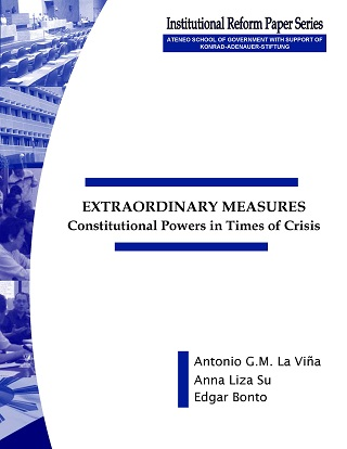 Extraordinary Measures: Constitutional Powers in Times of Crisis