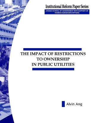 The Impact of Restrictions to Ownership in Public Utilities