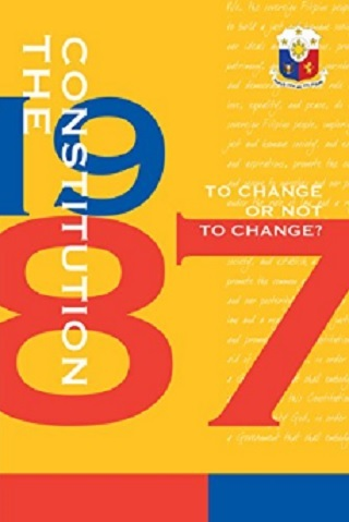 The 1987 Constitution: To Change or Not to Change?