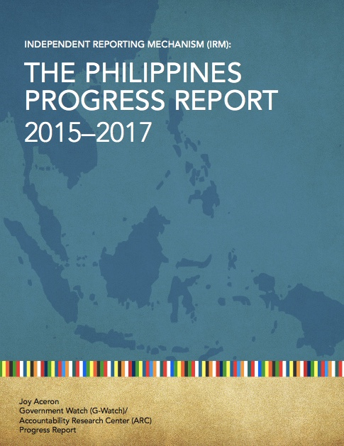 OGP IRM Philippines Progress Report 2015-2017