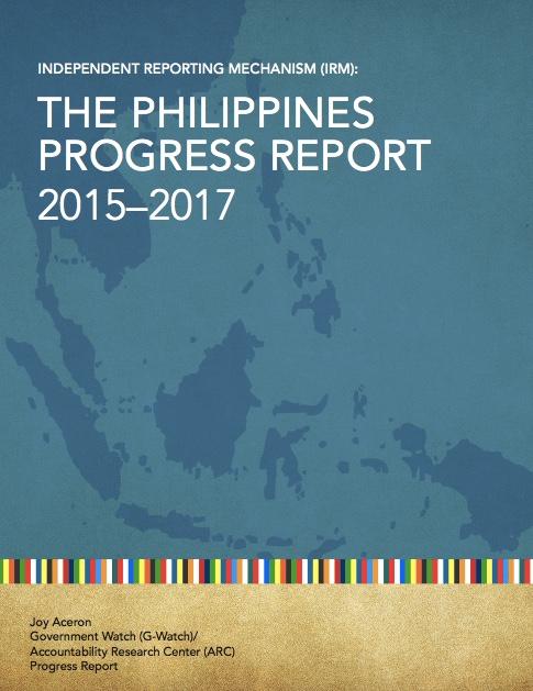 OGP IRM Philippines Progress Report 2015-2017