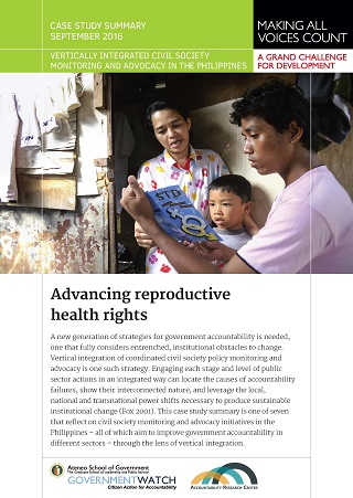 Advancing Reproductive Health Rights: Case Study Summary