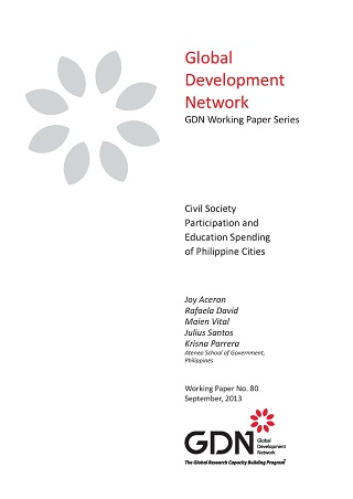 Civil Society Participation and Education Spending of Philippine Cities